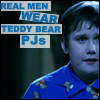 roisindubh211: (Real men wear Teddy bear pjs)