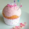 storme: (cake pincushion)