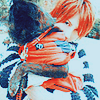stkka: (Saga hugging Chiko~)