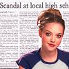 para1: (Scandal at high school!)