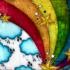 radicledgrl: (Rainbow Stars) (Default)