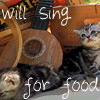 periwinklemist: (singing cat)