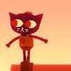 deadshapes: (cats have good balance)