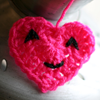 mewsing: Crochet heart I made for Chris (<3)
