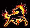 razzleccentric: (Fire Horse)