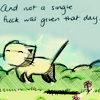 namasteowl: (cat\\not a single fuck)