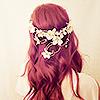 namasteowl: (girl\\redhead crown)
