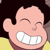 rosetintedbubbles: Steven smiling so hard his eyes close (SMILE!)