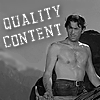 "nenya_kanadka: Gregory Peck with his shirt off on a mountainside; text: ""quality content"" (@ Gregory Peck shirtless)"