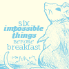 namasteowl: (six impossible things)