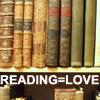 clawfoot: (reading = love)