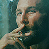 ibonekoen: (Vane: Smoking smug)