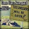 snufflesdbear: (sylum gator tresspassers eaten)