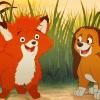 ravissement: (Fox & Hound.)