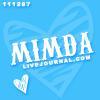 theirs: (Username;  Zebra heart {blue}) (Default)