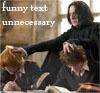 shocolate: (Harry/Ron/Snape)