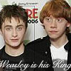 shocolate: (Weasley is his king)
