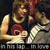 shocolate: (in his lap)