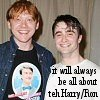 shocolate: (Harry/Ron succeed)