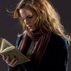 booksandmagic: Hermione Granger reading a copy of Beetle the Bard (Hermione)