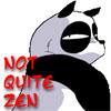 jamie: bitter panda saying not quite zen (dw volunteer)
