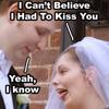 sleepwalkdance: (Self - Wedding kiss)
