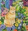 carbonel: (flower cat)