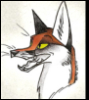 niall_shapero: Sharp muzzled fox icon (Shapr muzzled fox)