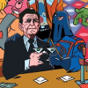 plicease: (reagan and cobra commander)