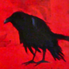asakiyume: (black crow on a red ground)