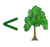 zweelum: (less-than-tree)