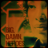"hermionesviolin: image of Zoe from Firely with text ""Big. Damn. Heroes."" (big damn heroes)"