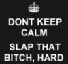 evile: (slap)