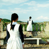"evewithanapple: joo-ran and yeon-duk look towards the sea | <lj user=""evewithanapple""</lj> (silenced 