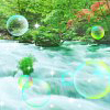 xenodike: (Stream with green bubbles)