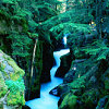 xenodike: (Green crocked waterfall)