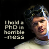 eldritchhobbit: (Dr Horrible/PhD)