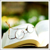 hakeber: (glasses and book)