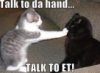 elainetyger: (talk to the hand)