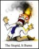 redheadedfemme: (burning stupid)