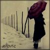 caruh: (alone)