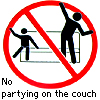 ghoti_mhic_uait: (No partying on the couch)