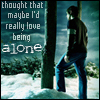 amanda: (Love being alone)