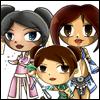 amanda: (GW: Riana + Dris + Aurora BFF)