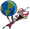 strange_complex: (Invader Zim globe)
