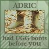 strange_complex: (Adric Ugg boots)