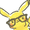sazandorable: Pikachu wearing large glasses (pika nerd)