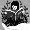 noquarter: (reading - book in hand)