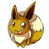 ethereon: Eevee smiling (eevee :D)