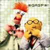 castalia: (Beaker and Honeydew - gasp)